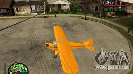 Piper J-3 Cub for GTA San Andreas