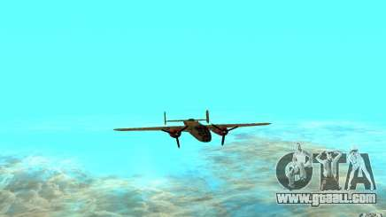 B-25 Mitchell for GTA San Andreas