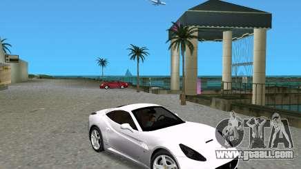 Ferrari California for GTA Vice City
