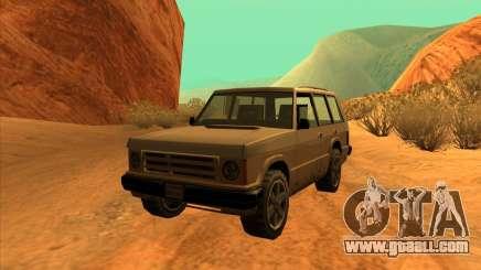 Huntley 1987 San Andreas Stories for GTA San Andreas