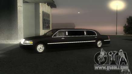Lincoln Towncar limo 2003 for GTA San Andreas