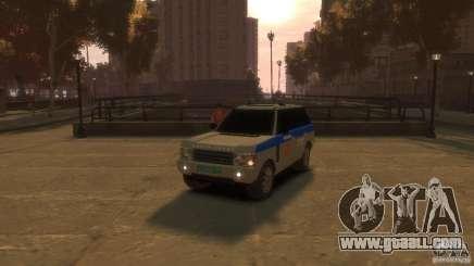 Land Rover Range Rover Police for GTA 4