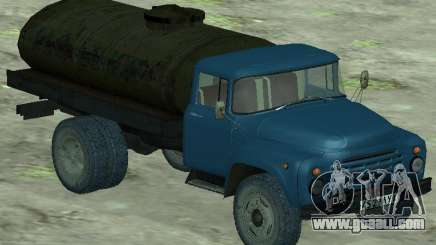 ZIL 130 milk tanker for GTA San Andreas