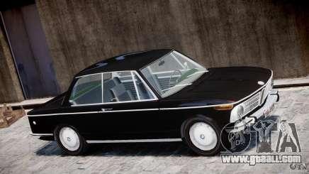 BMW 2002 1972 for GTA 4