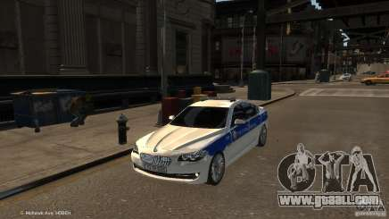 BMW 550i Azeri Police YPX for GTA 4