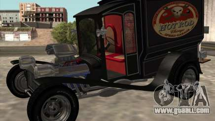 Ford model T 1923 Ice cream truck for GTA San Andreas