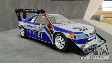 Peugeot 405 T16 Pikes Peak for GTA 4