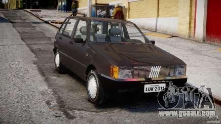Fiat Uno 70SX 1989-1993 for GTA 4