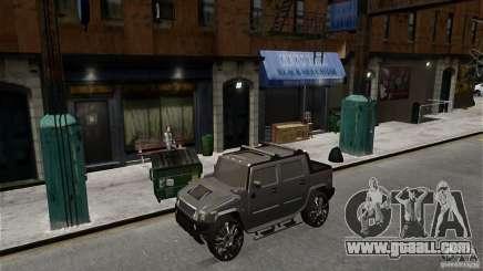 Hummer H2 SUT for GTA 4