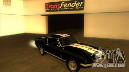 Shelby GT500 1967 for GTA San Andreas