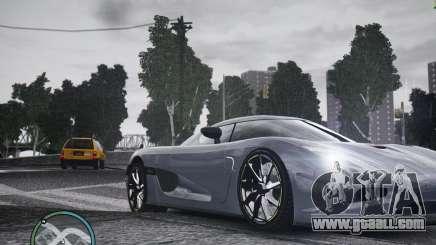 Koenigsegg Agera for GTA 4