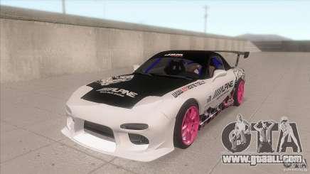 Mazda RX-7 FD K.Terej for GTA San Andreas