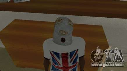 New Era White cap for GTA San Andreas