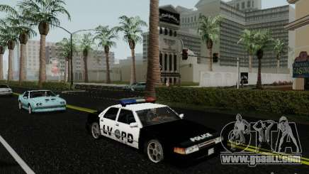 Sunrise Police LV for GTA San Andreas