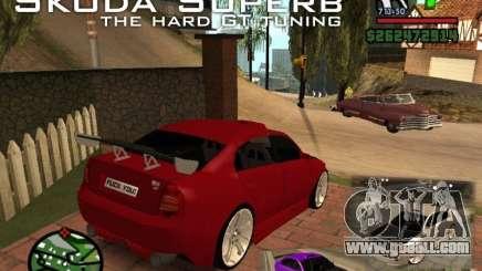 Skoda Superb HARD GT Tuning for GTA San Andreas