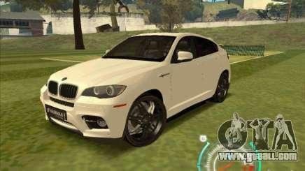 BMW X6 M Hamann Design for GTA San Andreas