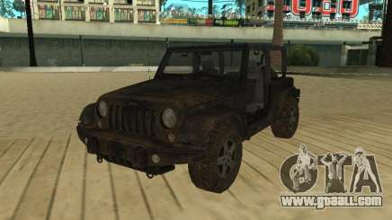 Jeep Wrangler SE for GTA San Andreas