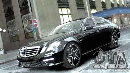 Mercedes-Benz E63 AMG for GTA 4
