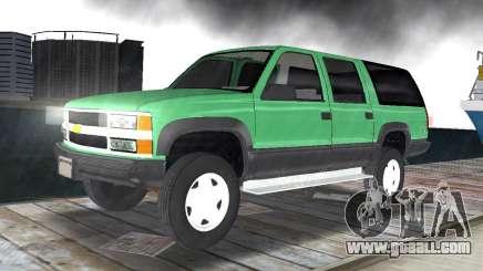 Chevrolet Suburban 1996 for GTA Vice City