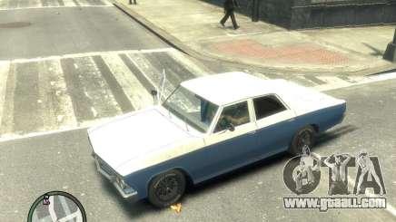 Chevrolet Chevelle 1966 for GTA 4