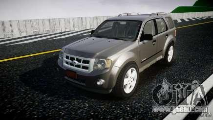 Ford Escape 2011 Hybrid Civilian Version v1.0 for GTA 4