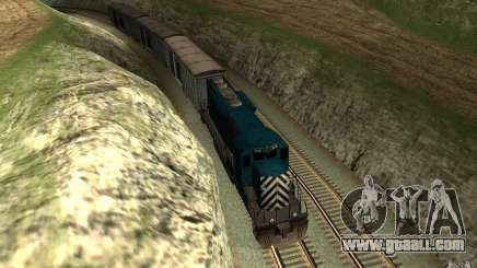 San Andreas Beta Train Mod for GTA San Andreas