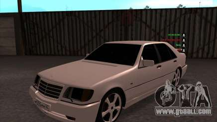 Mercedes-Benz 600SEL AMG 1993 for GTA San Andreas