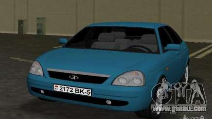 Lada Priora Hatchback for GTA Vice City