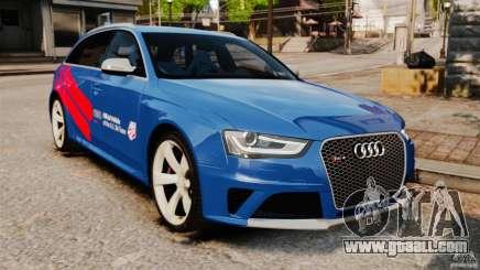 Audi RS4 Avant 2013 for GTA 4