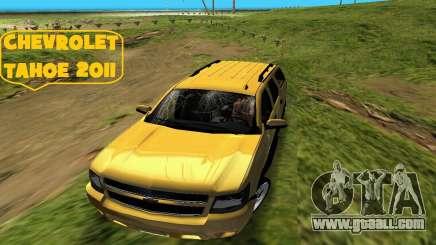 Chevrolet Tahoe 2011 for GTA Vice City