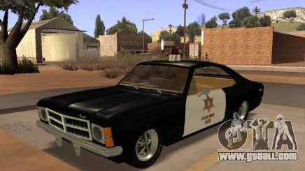 Chevrolet Opala Police for GTA San Andreas