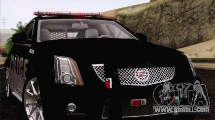 Cadillac CTS-V Police Car for GTA San Andreas