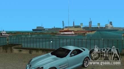 Mercedess Benz SLR Maclaren for GTA Vice City