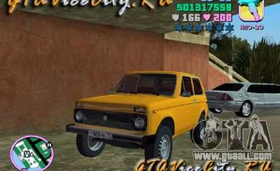 The Niva VAZ 21213 for GTA Vice City