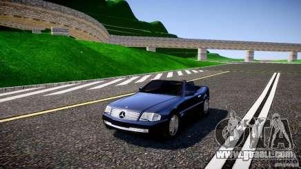 Mercedes SL 500 AMG 1995 for GTA 4