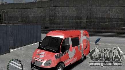 Gazelle 2705 Telkomsel Van for GTA 4
