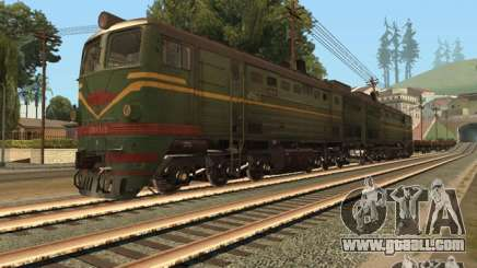 Diesel locomotive 2te10l for GTA San Andreas