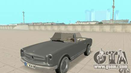 Mercedes-Benz 280SL (Matt) for GTA San Andreas