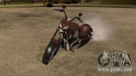 Harley Davidson for GTA San Andreas