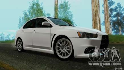 Mitsubishi Lancer Evolution X Tunable for GTA San Andreas