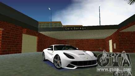 Ferrari F12 Berlinetta for GTA Vice City