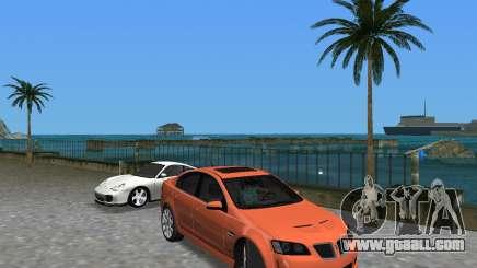 Pontiac G8 GXP for GTA Vice City