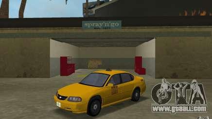 Chevrolet Impala Taxi for GTA Vice City