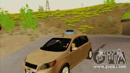 Chevrolet Aveo LT for GTA San Andreas