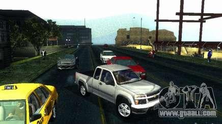 Chevrolet Colorado 2003 for GTA San Andreas