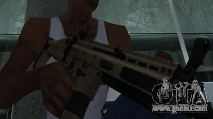 FN Scar L for GTA San Andreas