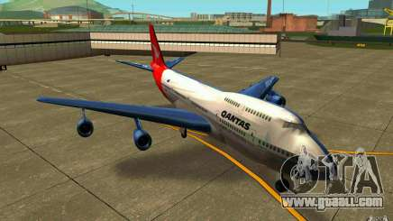 Boeing Qantas 747-400 for GTA San Andreas
