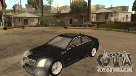 Cadillac CTS-V 2009 for GTA San Andreas