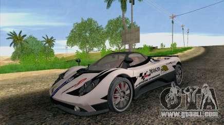 Pagani Zonda F v2 for GTA San Andreas