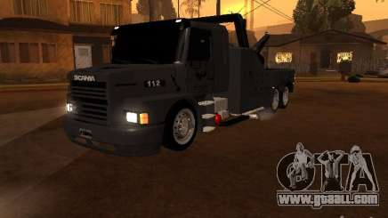 Scania 112H Gruas Fenix for GTA San Andreas
